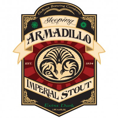 Armadillo Beer label (college assignment)