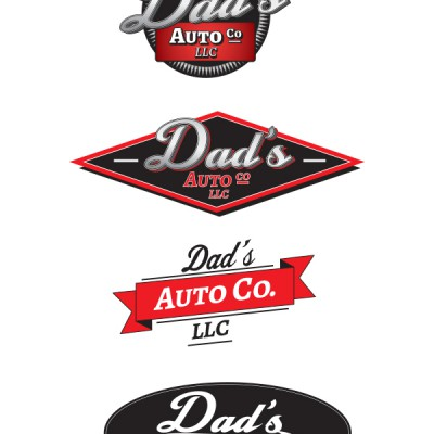 Dad's Auto Logo Design Proposal