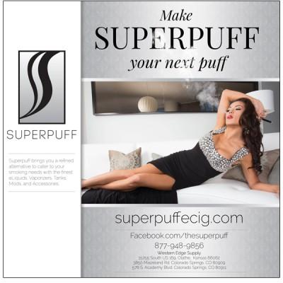 Superpuff 24X24 Poster